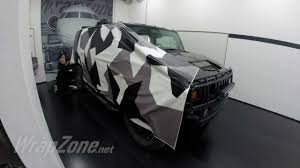 jeep hummer matte black wrapzone hummer h2 camo wrap youtube