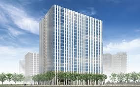building concept concept minatomirai center building