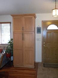 Kitchen Pantry Doors Ideas Tall Kitchen Pantry Cabinet Office Table