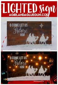 christmas signs christmas signs a girl and a glue gun