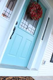 love this robin u0027s egg blue front door home front porch decor