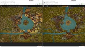 The Forest Map Trying Out The Forest Texture Left Tree Icons Right Forest