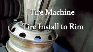 tire machine youtube