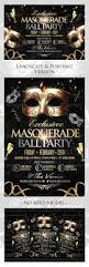 masquerade ball flyer landscape portrait version masquerade