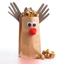 how to make a reindeer paper bag better homes and gardens