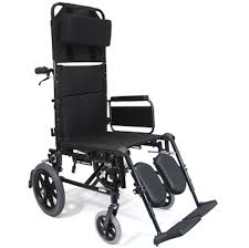 Recliner With Wheels Karman Healthcare Km 5000 Tp Ultralight Transport Reclining