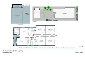 The Panorama Floor Plan by 29 Eaton Street Willoughby 2068 Nsw Stone Real Estate