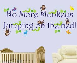 No More Monkeys Jumping On The Bed Song Bedding No More Monkeys Jumping On The Bed No More Monkeys