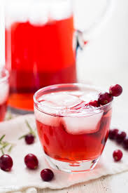 easy thanksgiving drinks apple cranberry ginger ale spritzer plating pixels