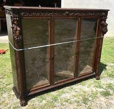 Bookcase With Lock Antique Bookcases Ebay