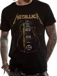 Blind Guardian Shirts Hetfield Iron Cross T Shirt
