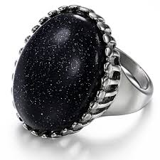 big stone rings images Women jewelry imitation mushroom big stone ring designs for women jpg
