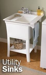 stand alone utility sink 25 best laundry room sink images on pinterest bathroom laundry