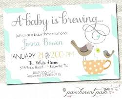 a baby is brewing baby shower tea party invitations also baby is brewing shower