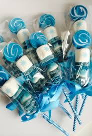 edible party favors frozen inspired candy kabob skewer marshmallow pop lollipop