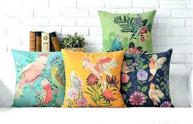 decorative pillows home goods home goods decorative pillows flower and bird decorative pillows for