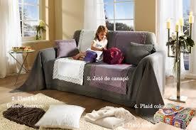 plaid sur canapé grand plaid pour canapé intérieur déco