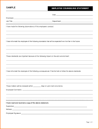 Counseling Form 4856 Fillable Doc 7681024 Employee Counseling Form Usmc Evalu Vawebs