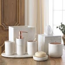 bathroom accessory ideas marble bathroom accessories sets house decorations