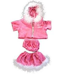 clothes for build a pink and white teddy clothes