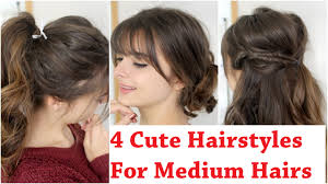 classic donut bun 2 options cute hairstyles for medium hairs