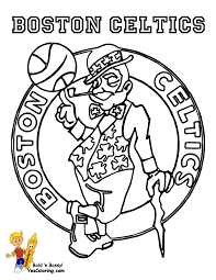 brawny basketball coloring yescoloring free nba basketball