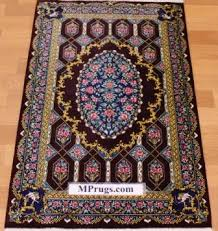 Signed Persian Rugs Qum Persian Rugs Genuine Qom Carpets