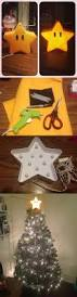 i repurposed a lamp from target to make a mario star for the top
