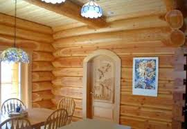 log home interior walls log cabin interior finishes which materials are best