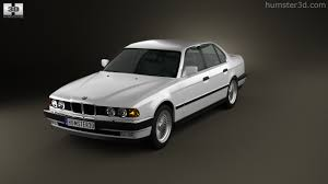1992 bmw 7 series 360 view of bmw 7 series e32 1992 3d model hum3d store