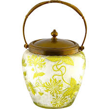 french 75 png antique french baccarat crystal glass cookie jar cameo cut