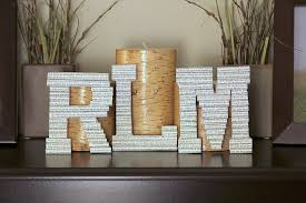 Decorative Letters For Walls Craftionary
