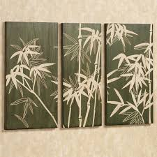 Garden Wall Ornaments by Bamboo Wall Decoration Ideas Tips For Decorating With Bamboo And