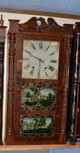 antique wood work clocks mackey u0027s antique clock repair