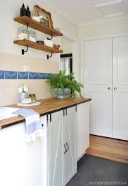 how to add molding to kitchen cabinet doors how to add trim to plain doors the painted hive