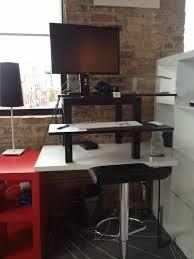 desks how to build an adjustable height desk galant a frame desk