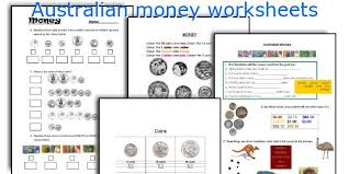 all worksheets counting australian money worksheets printable