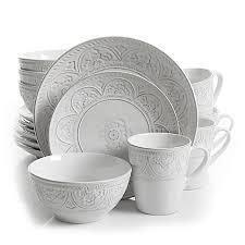 gibson overseas juneau 16 dinnerware set bed bath beyond
