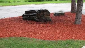 Red Landscape Rock by Rocks Green Prairie Landscaping