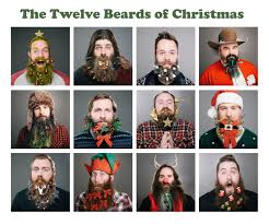 beard ornaments beard baubles decorate your hair this christmas