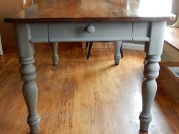 chalk paint farmhouse table a table restoration refinishing with chalk paint