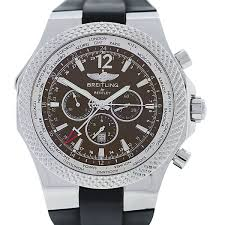 breitling bentley diamond breitling for bentley a47362 special edition gmt world timer watch