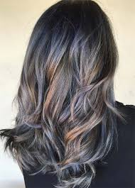 brown haircolor for 50 grey dark brown hair over 50 50 magically blue denim hair colors you will love fashionisers