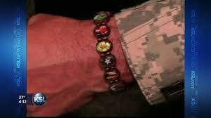 battle saints bracelets battle bracelets give comfort to soldiers families ksl