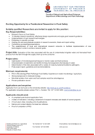 ideas collection postdoc research cover letter sample in example