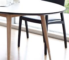 Oval Retro Dining Table DM Wharfside Danish Furniture - Kitchen table retro