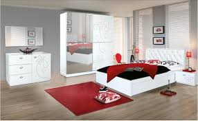 bedroom cool red and black bedroom decoration idea luxury modern