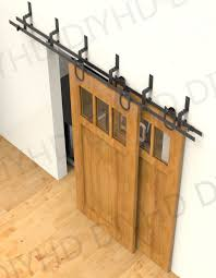 Bypass Closet Door Hardware Rustic Diy Bypass Closet Doors Pilotproject Org