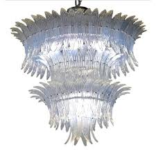 Opaline Chandelier The Midmodernist Your Source For Italian Mid Century Modern Design