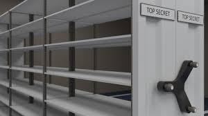 mobile shelving system 3d asset cgtrader